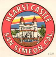 San Simeon, Hearst Castle