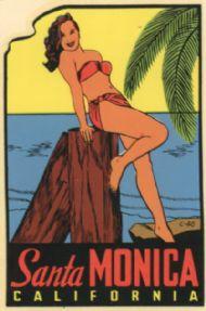 Santa Monica, pinup