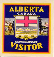 Vacationland Visitor Alberta