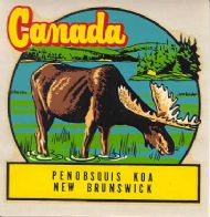 Penobsquis KOA New Brunswick