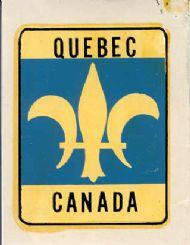 Shield, Fleur-de-Lis Quebec