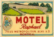 Motel Raphael Montreal Quebec