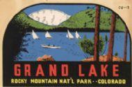 Rocky Mountain NP,Grand Lake