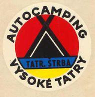 Autocamping Vysoke Tatry Tatr. Strba