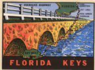 Florida Keys, Overseas Highway, orange