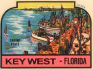 Key West, Shrimp Boats