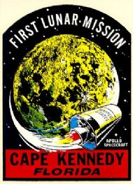 Cape Kennedy 1st Lunar Mission