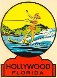 Hollywood, Waterskiing Lady