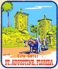 Saint Augustine, City Gates