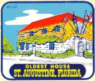 Saint Augustine, Oldest House