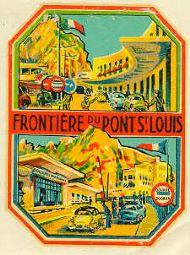 Frontière du Pont Saint Louis