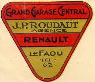 Renault Garage in LeFaou