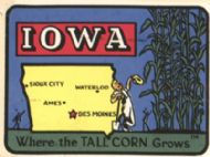 State Map Where the Tall Corn Grows, smaller