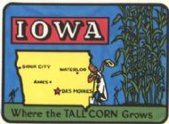 State Map Where the Tall Corn Grows, larger