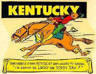 Horse from Kentucky was heard to neigh