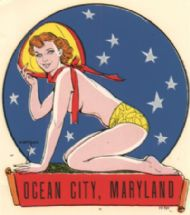 Ocean City & Pin-up by Vargas