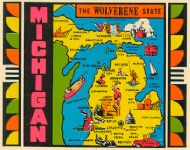 State Map Wolverene State