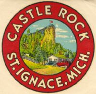 Saint Ignace, Castle Rock