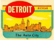 Detroit, Auto City