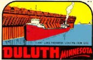 Duluth, Giant Lake Freighter