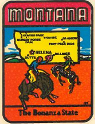 State Map Bonanza State