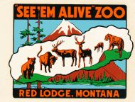 Red Lodge See 'em Alive Zoo