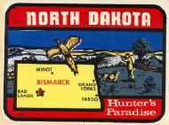 State Map Hunters Paradise darker color
