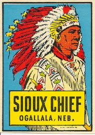 Ogallala, Sioux Chief