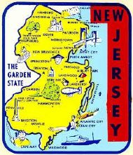 State Map Garden State