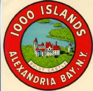 1000 Islands, Alexandria Bay