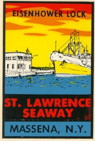 St. Lawrence Seaway, Eisenhower Lock