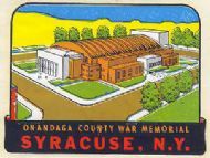 Syracuse Onandaga County War Memorial