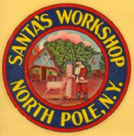 North Pole, Santa's Workshop