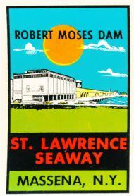 St.Lawrence Seaway, Robert Moses Dam