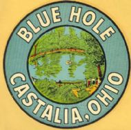 Castalia, Blue Hole