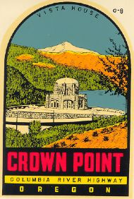 Crown Point, orange hills