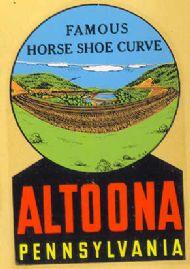 Altoona Horse Shoe Curve