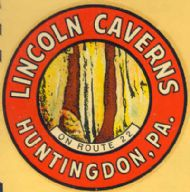 Huntingdon, Lincoln Caverns
