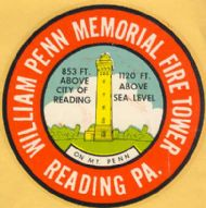 Reading, William Penn Memorial Fire Tower