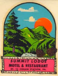 Cogan Station, Summit Lodge Motel