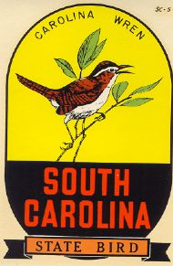 Carolina Wren, State Bird