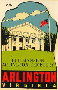 Arlington, Lee Mansion