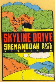 Shenandoah N.P. Skyline Drive