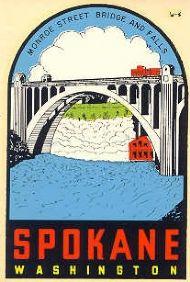 Spokane Monroe Street Bridge