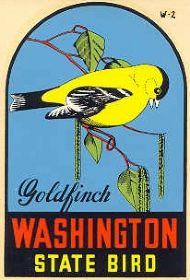 State Bird Goldfinch