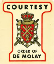 Courtesy Order of De Molay
