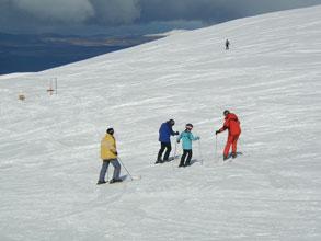 aviemore ski school lessons on cairngorm