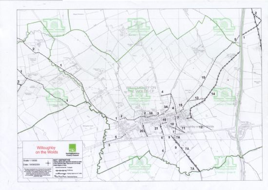 Willoughby On The Wolds   maps