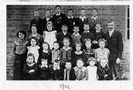 Willoughby School 1902. Head - Mr Moorhouse