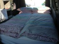Extra wide bed